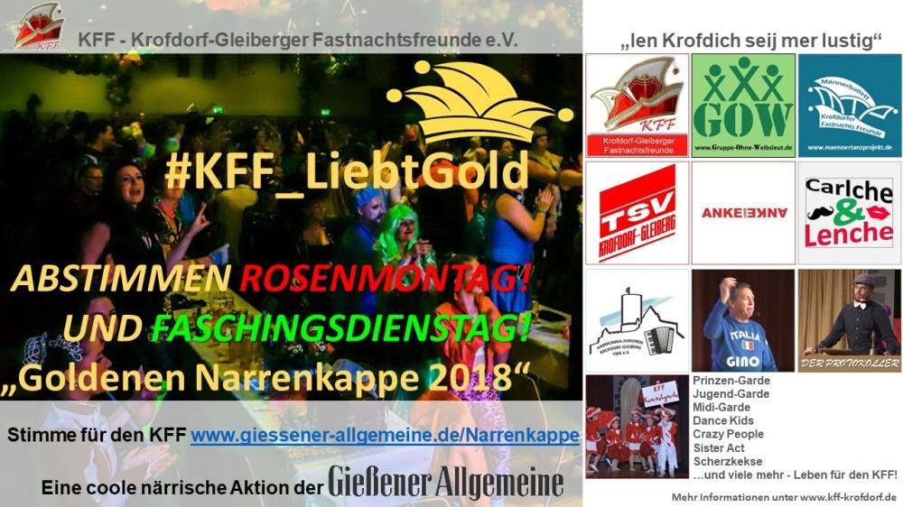 Goldene-Narrenkappe Giessener-Allgemeine