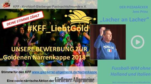 Goldene Narrenkappe Giessener Allgemeine